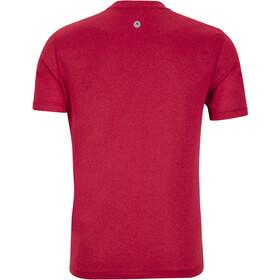 Marmot Transporter Lyhythihainen T-paita Miehet, sienna red heather